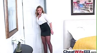 Horny Sexy Wife (cory chase) Cheats In Hard Sex Tape video-10