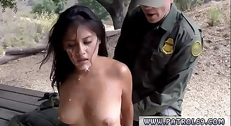 Bad cop threesome and fake police officer hotel Border Patrol agents