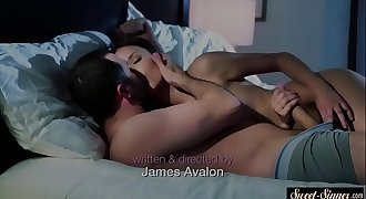 Bigtits beauty fucked in the bedroom