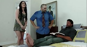 Swinger Husband Gives His Wife Away