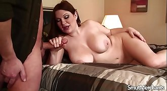 Sexy girl with super nice tits fucked
